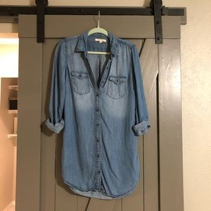 Chambray tunic or dress